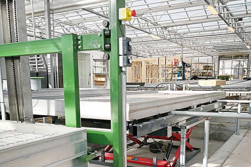 Stabling af borde i automatisk system