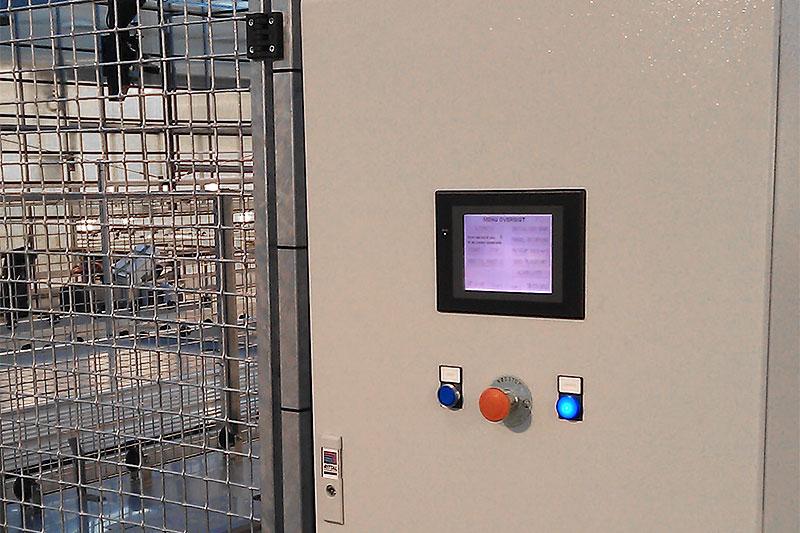 Kontrolpult til vaskemaskine til mobilborde