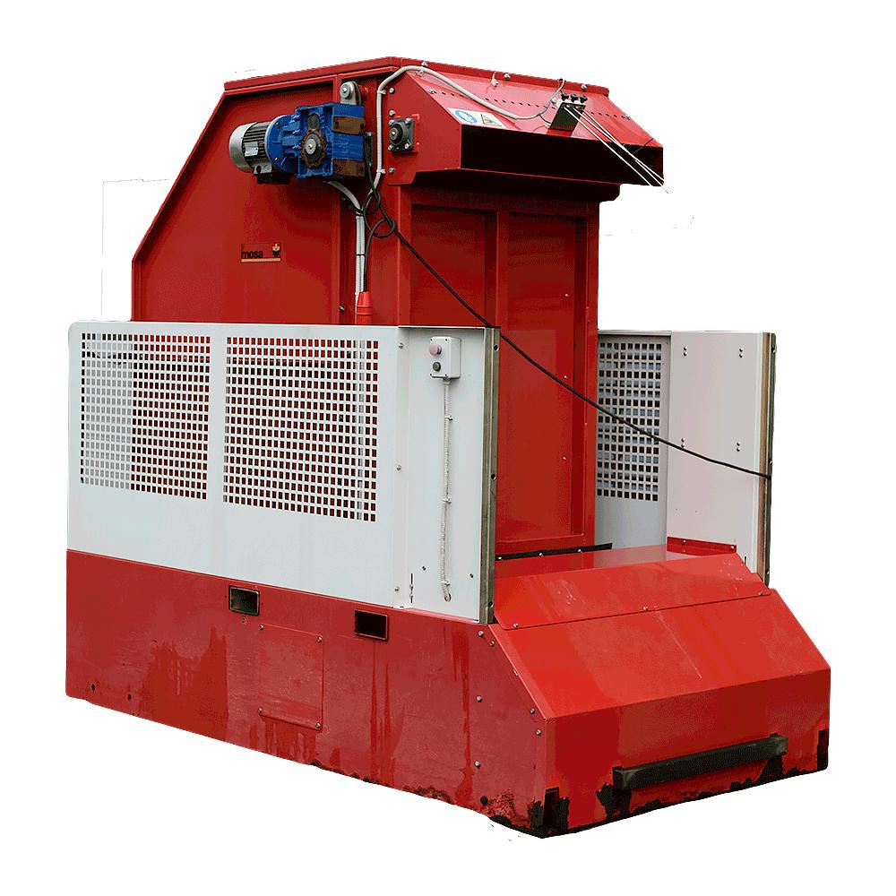 Big bale machine used