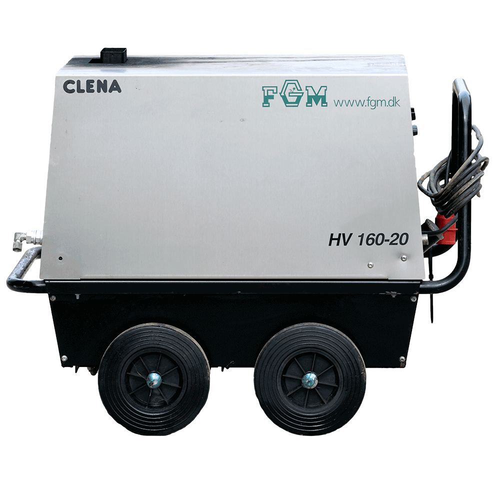 Højtryksrenser Clena HV 160-20 - brugte maskiner